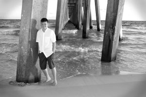 An indivual shot under the pier in PCB,Fl.