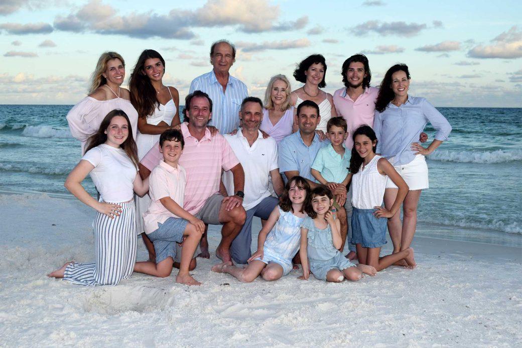 Panama City Beach photographer captures a family reunion long overdue.