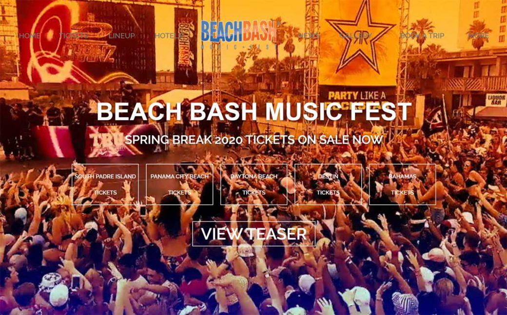 Beach Bash Music Fest