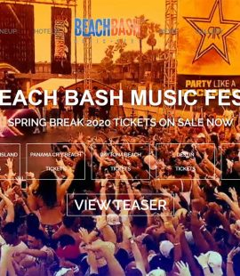 Beach Bash Music Fest