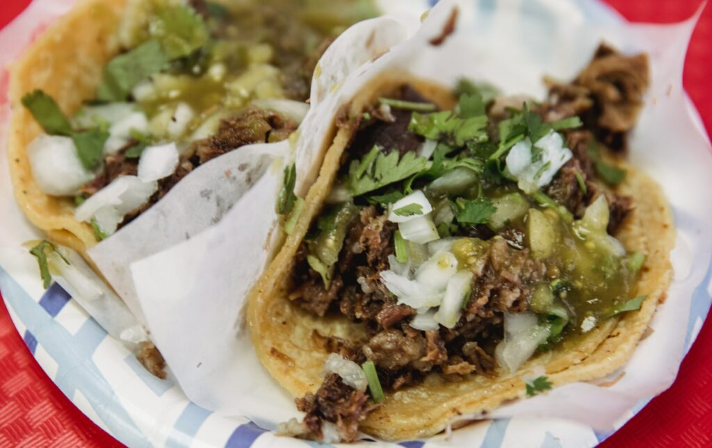 yummy tacos on a plate